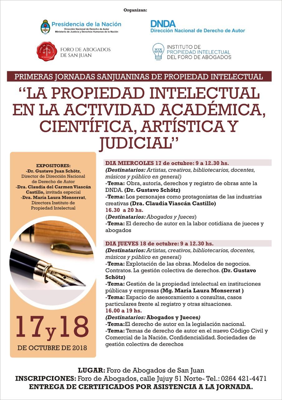 Jornadas de Propiedad Intelectual en San Juan